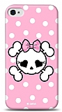 Dafoni  iPhone 4 / 4S Pink Skull K�l�f