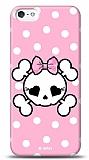 Dafoni iPhone SE / 5 / 5S Pink Skull K�l�f