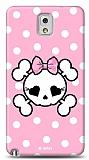 Dafoni  Samsung N9000 Galaxy Note 3 Pink Skull K�l�f