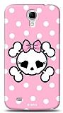 Dafoni  Samsung Galaxy Mega 6.3 Pink Skull K�l�f