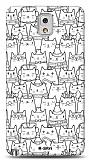 Dafoni  Samsung N9000 Galaxy Note 3 Cats K�l�f