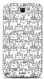 Dafoni  Samsung N7100 Galaxy Note 2 Cats K�l�f