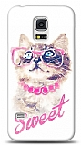 Samsung i9600 Galaxy S5 Sweet Cat Kılıf