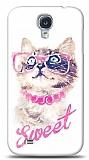 Dafoni Samsung Galaxy i9500 S4 Sweet Cat K�l�f