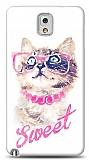 Dafoni Samsung N9000 Galaxy Note 3 Sweet Cat K�l�f
