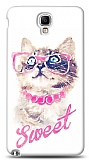 Dafoni Samsung N7500 Galaxy Note 3 Neo Sweet Cat K�l�f