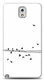 Dafoni Samsung N9000 Galaxy Note 3 Flying Birds K�l�f