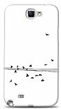 Dafoni Samsung N7100 Galaxy Note 2 Flying Birds K�l�f