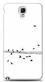 Dafoni Samsung N7500 Galaxy Note 3 Neo Flying Birds K�l�f