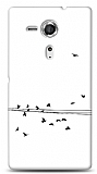 Sony Xperia SP Flying Birds Kılıf
