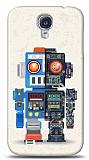 Dafoni Samsung Galaxy i9500 S4 Robot K�l�f