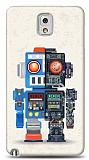 Dafoni Samsung N9000 Galaxy Note 3 Robot K�l�f