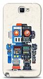 Dafoni Samsung N7100 Galaxy Note 2 Robot K�l�f