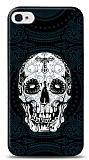 Dafoni iPhone 4 / 4S Black Skull K�l�f