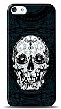 Dafoni iPhone 5 / 5S Black Skull K�l�f