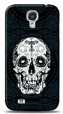 Dafoni Samsung Galaxy i9500 S4 Black Skull K�l�f