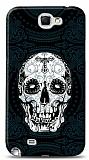 Dafoni Samsung N7100 Galaxy Note 2 Black Skull K�l�f
