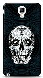 Dafoni Samsung N7500 Galaxy Note 3 Neo Black Skull K�l�f