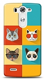 LG G3 S / G3 Beat Four Cats Kılıf