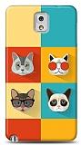 Dafoni Samsung N9000 Galaxy Note 3 Four Cats K�l�f
