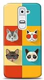 Dafoni LG G2 Four Cats K�l�f