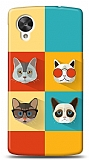 Dafoni LG Nexus 5 Four Cats Kılıf