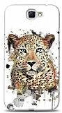 Dafoni Samsung N7100 Galaxy Note 2 Leopard K�l�f