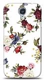 Dafoni Samsung Galaxy i9500 S4 Vintage Flowers K�l�f