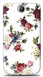 Dafoni Samsung Galaxy W i8150 Vintage Flowers K�l�f