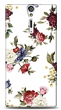 Dafoni Sony Xperia S Vintage Flowers K�l�f