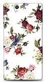 Dafoni Sony Xperia Z Vintage Flowers K�l�f