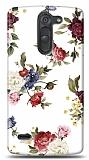 LG G3 Stylus Vintage Flowers Kılıf