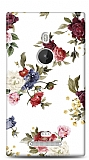 Dafoni Nokia Lumia 925 Vintage Flowers K�l�f