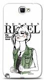 Dafoni Samsung N7100 Galaxy Note 2 Rebel K�l�f