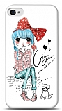 Dafoni iPhone 4 / 4S Cute Chic K�l�f