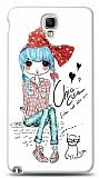 Dafoni Samsung N7500 Galaxy Note 3 Neo Cute Chic K�l�f