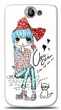 Dafoni Samsung Galaxy W i8150 Cute Chic K�l�f