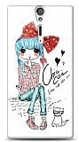 Dafoni Sony Xperia S Cute Chic K�l�f