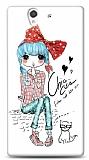 Dafoni Sony Xperia Z Cute Chic K�l�f