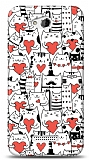 Dafoni HTC Desire 616 Love Cats K�l�f