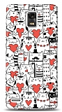 Dafoni Huawei Ascend P1 Love Cats K�l�f
