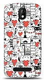 Dafoni HTC Desire 500 Love Cats K�l�f