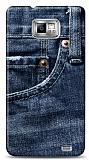Dafoni Samsung i9100 Galaxy S2 Jean K�l�f