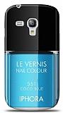 Dafoni Samsung Galaxy S3 mini Mavi Oje K�l�f