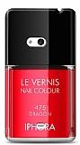 Dafoni Nokia Lumia 625 K�rm�z� Oje K�l�f