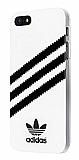 adidas iPhone SE / 5 / 5S Parlak Beyaz Rubber Kılıf