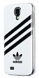 adidas Samsung i9500 Galaxy S4 Beyaz Rubber Kılıf
