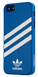 adidas iPhone 5 /5S Mavi Deri Rubber K�l�f