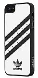 adidas iPhone 5 /5S Beyaz Deri Rubber K�l�f