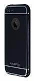 Air Jacket iPhone SE / 5 / 5S Jet Black Silikon Kılıf
